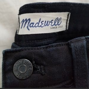 Madewell Jeans - Madewell Moto style skinny jeans
